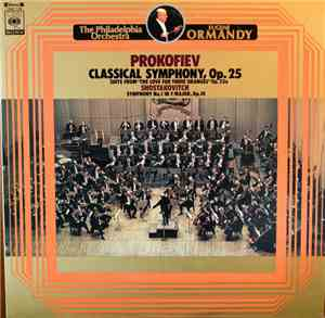 Prokofiev - Shostakovich, Ormandy Conducting The Philadelphia Orchestra - C ...