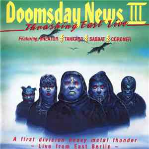 Various - Doomsday News III Thrashing East Live