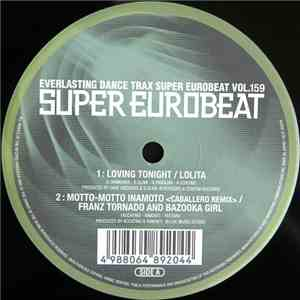 Various - Super Eurobeat Vol. 159