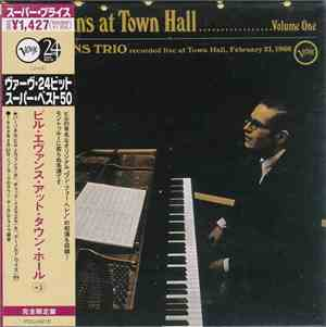 Bill Evans Trio - At Town Hall, Volume One