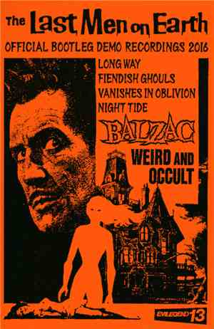 Balzac - The Last Men On Earth Official Bootleg Demo Recordings 2016